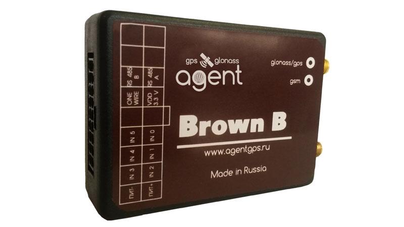 Навигационный GPS / GLONASS терминал AGENT Brown B