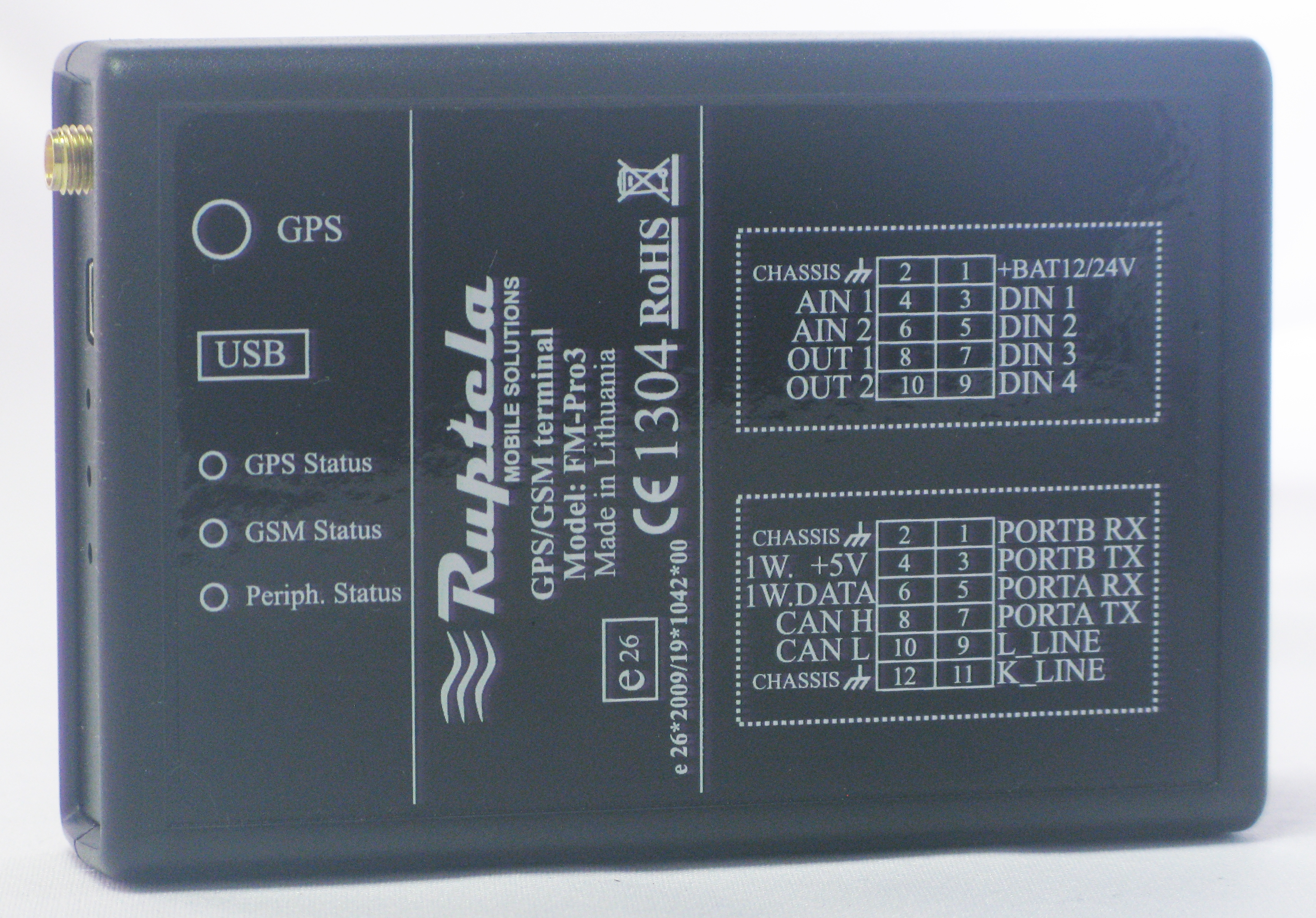 Ruptela FM-Pro3 GPS