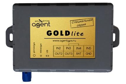 Терминал (ГЛОНАСС/GPS трекер) AGENT GOLD lite