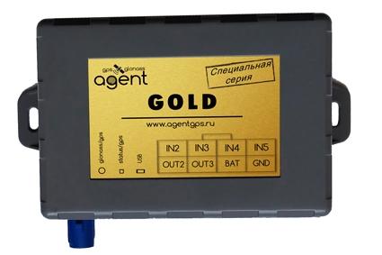 Терминал (ГЛОНАСС/GPS трекер) AGENT GOLD