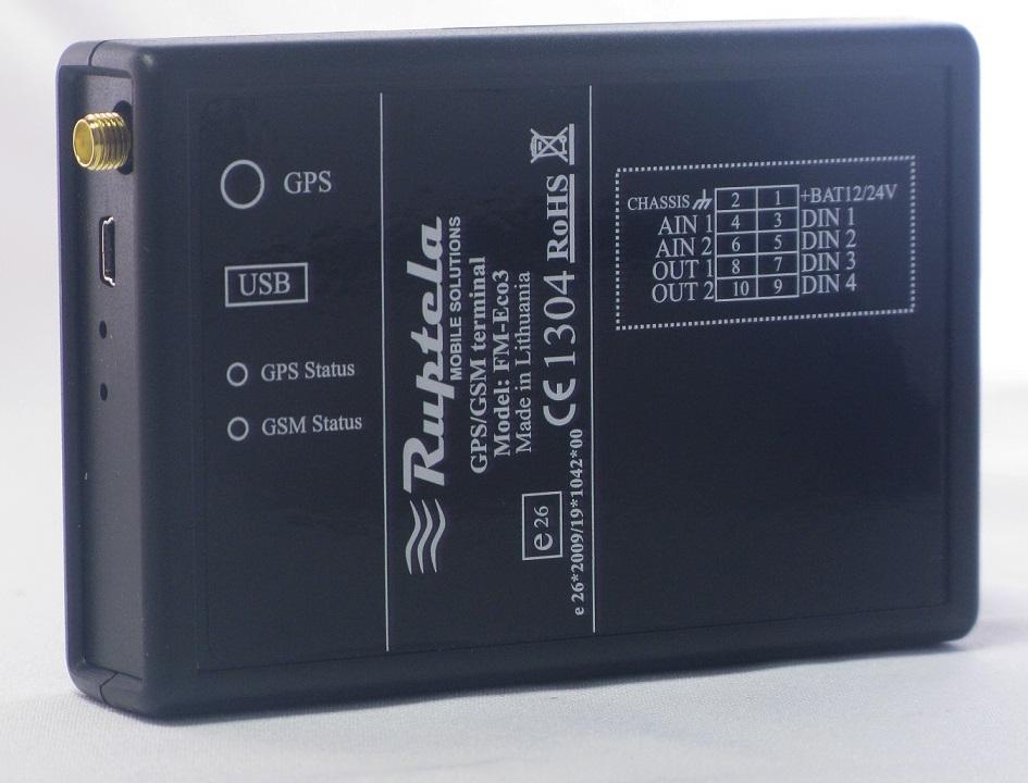 Ruptela FM-Eco3 GPS Надежный GPS трекер. Цена 4500 руб.