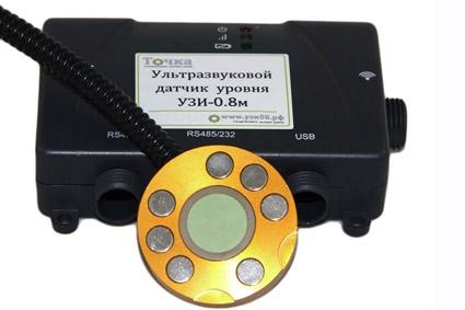 """Ультразвуковой датчик уровня """"без врезки!"""" УЗИ-0.8м (до 1000 мм.)"""